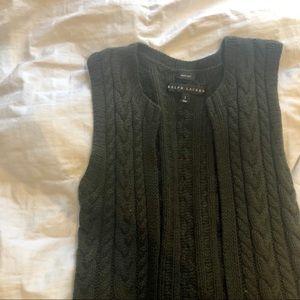 Ralph Lauren 100% Cashmere Sweater Vest